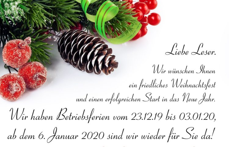Weihnacht2019